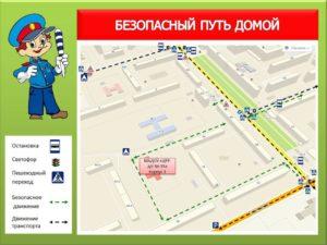Безопасный путь в детский сад - корпус 3, ул. Свиязева, 36
